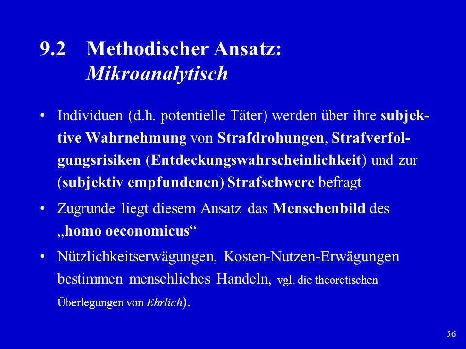 9.2 Methodischer Ansatz: Mikroanalytisch