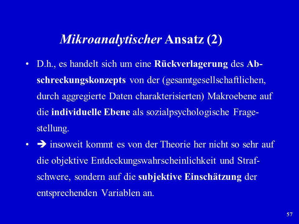 Mikroanalytischer Ansatz (2)