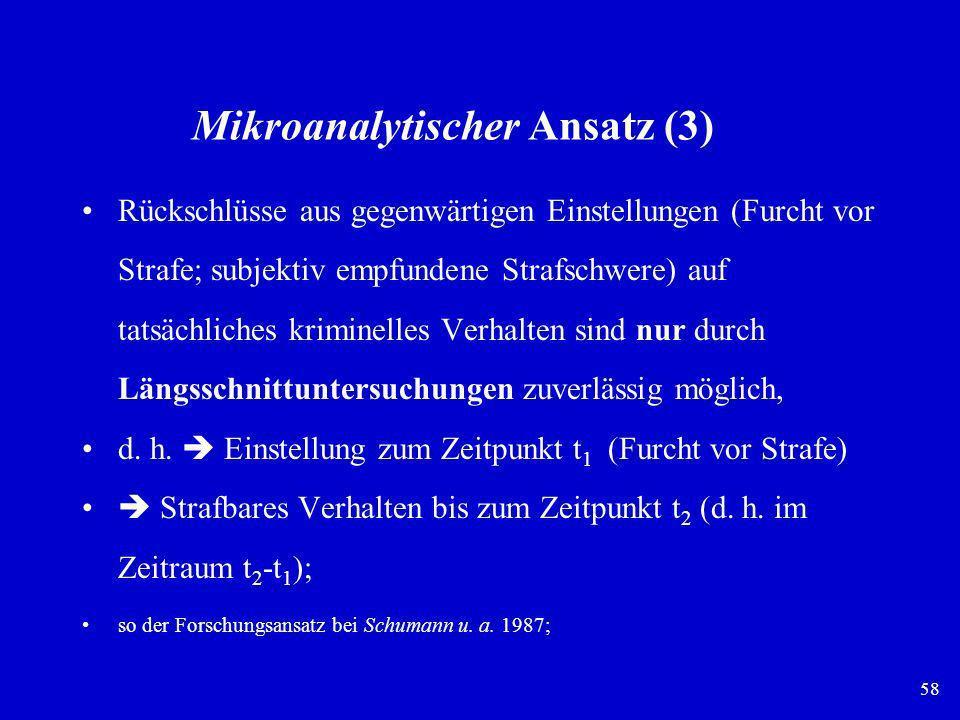 Mikroanalytischer Ansatz (3)