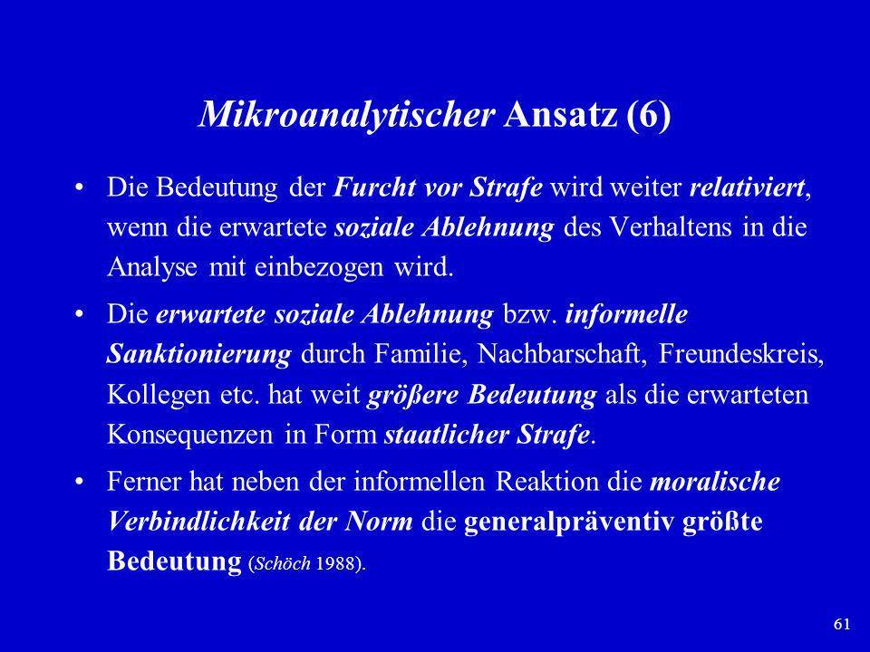 Mikroanalytischer Ansatz (6)