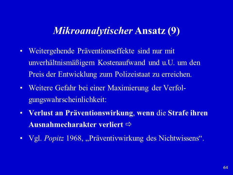 Mikroanalytischer Ansatz (9)