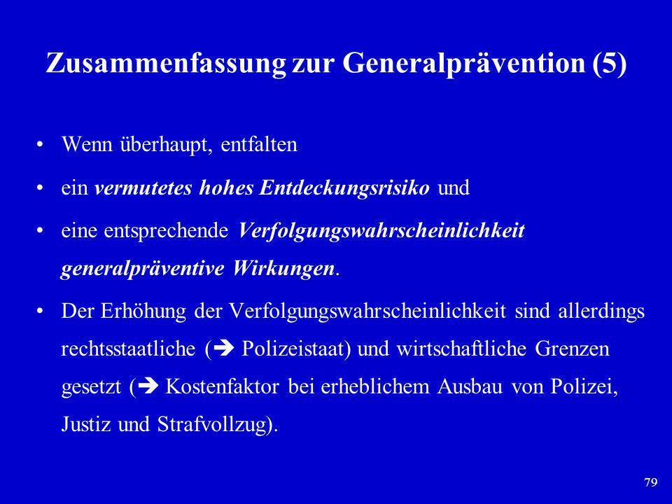 Zusammenfassung zur Generalprävention (5)
