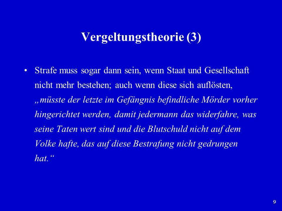 Vergeltungstheorie (3)