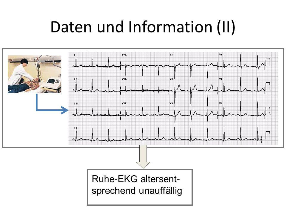Daten und Information (II)