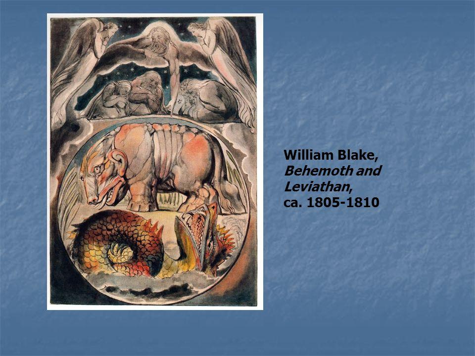 William Blake, Behemoth and Leviathan,