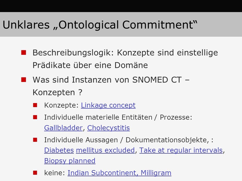 "Unklares ""Ontological Commitment"