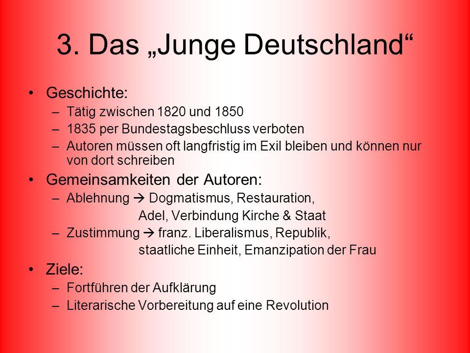 """3. Das """"Junge Deutschland"""