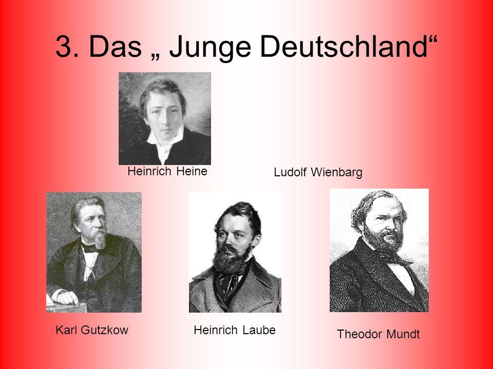 """3. Das """" Junge Deutschland"""