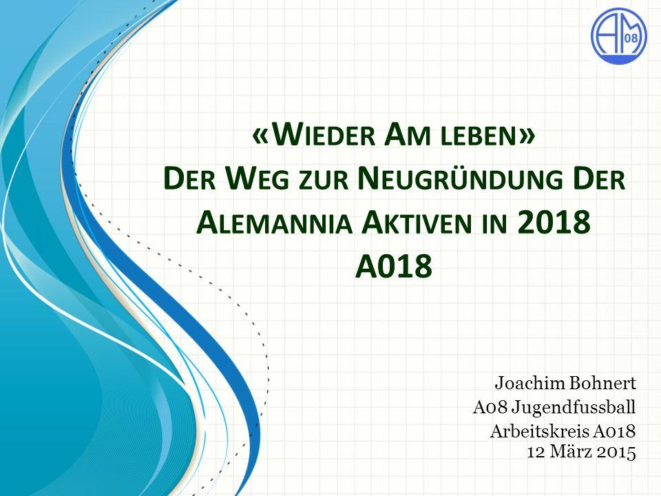 Joachim Bohnert A08 Jugendfussball Arbeitskreis A018 12 März 2015