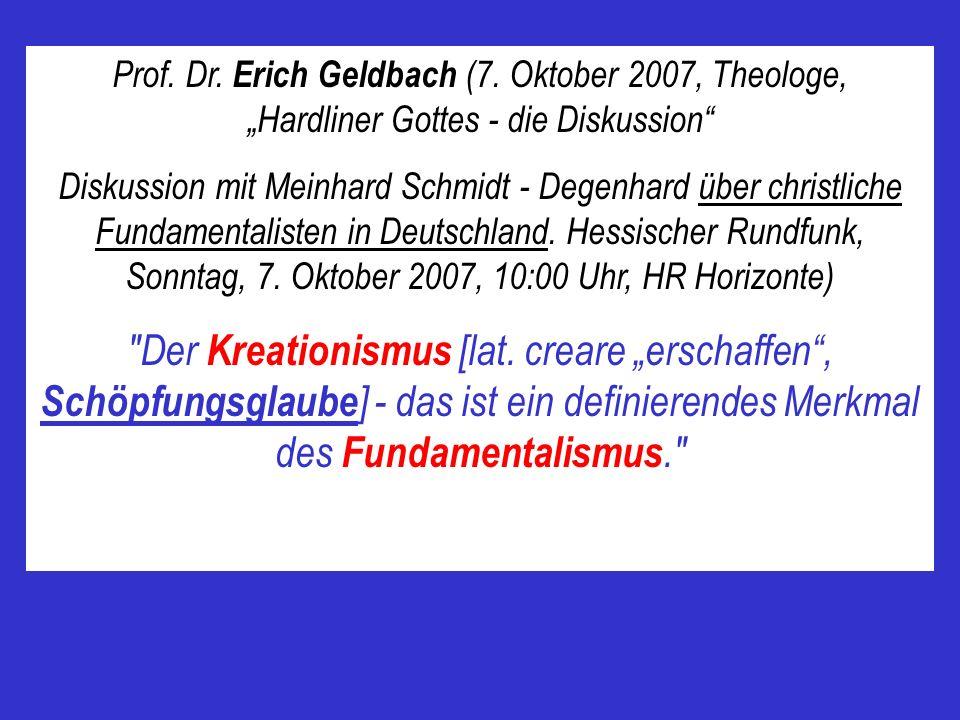 Prof. Dr. Erich Geldbach (7