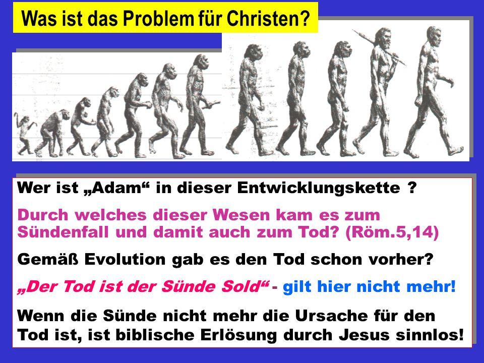 Was ist das Problem für Christen