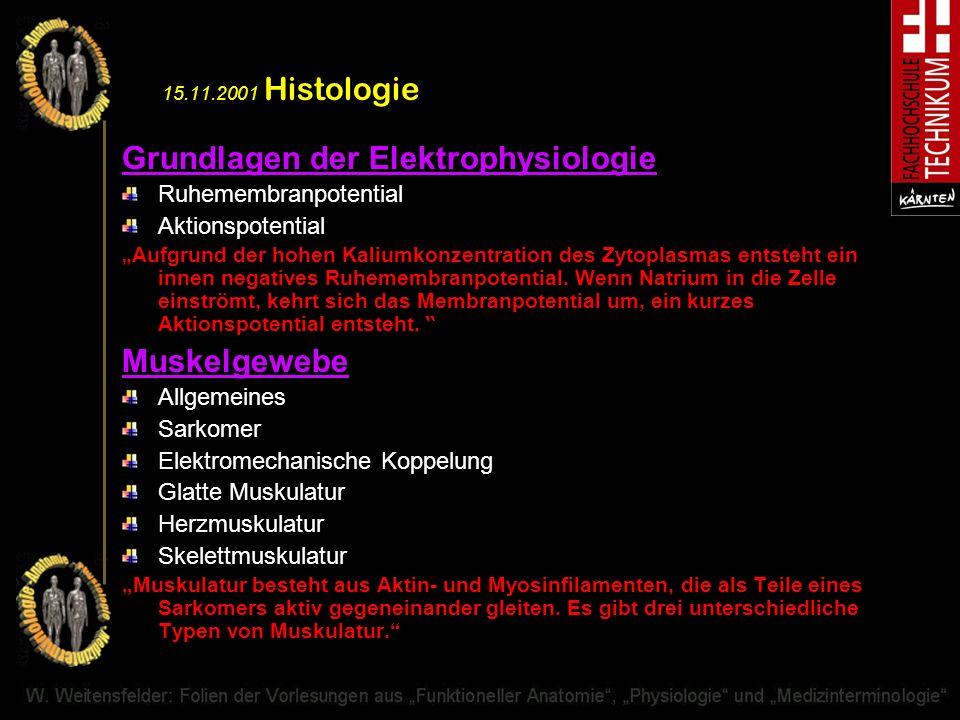 Grundlagen der Elektrophysiologie