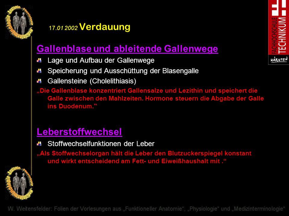 Gallenblase und ableitende Gallenwege