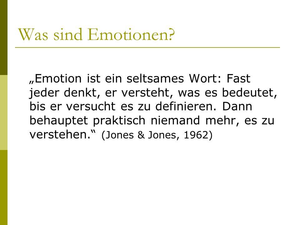 Was sind Emotionen