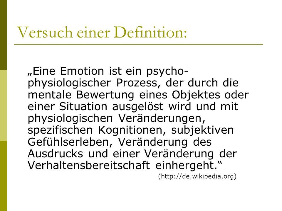 Versuch einer Definition: