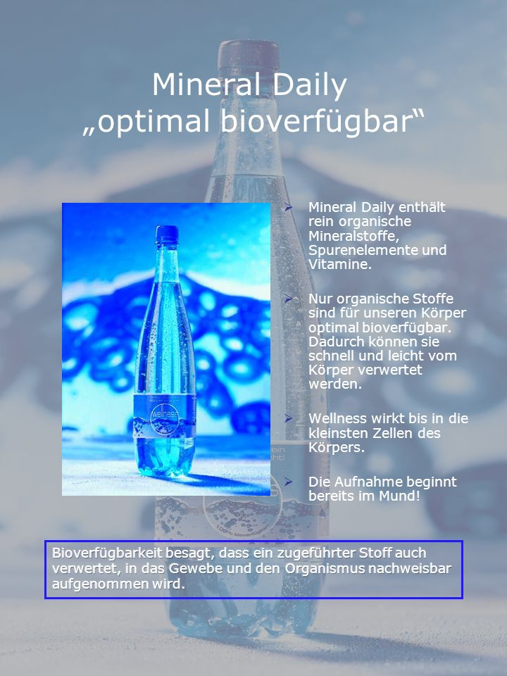 "Mineral Daily ""optimal bioverfügbar"