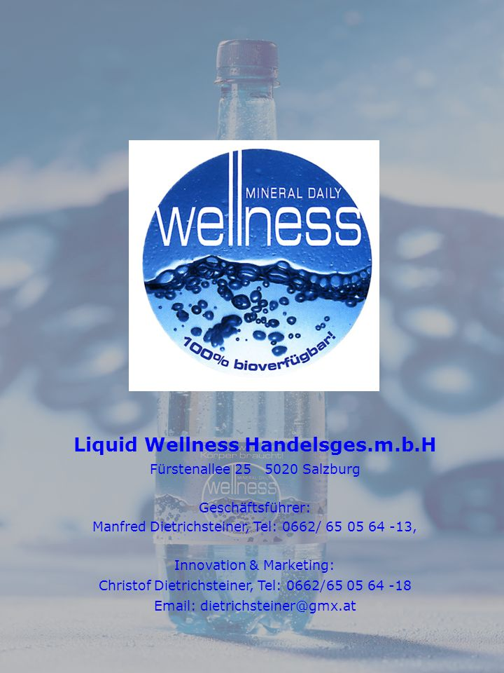 Liquid Wellness Handelsges.m.b.H
