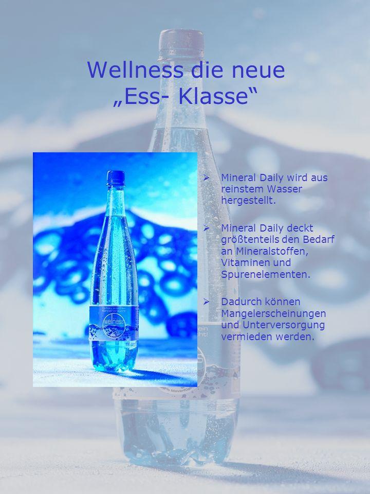 """Wellness die neue """"Ess- Klasse"""