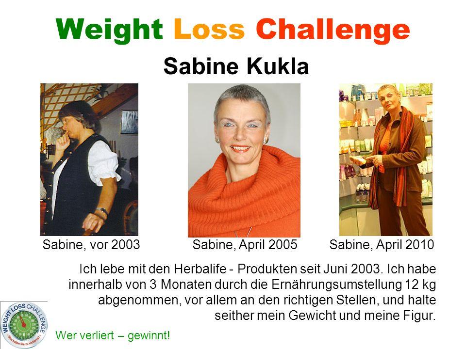 Sabine, vor 2003 Sabine, April 2005 Sabine, April 2010