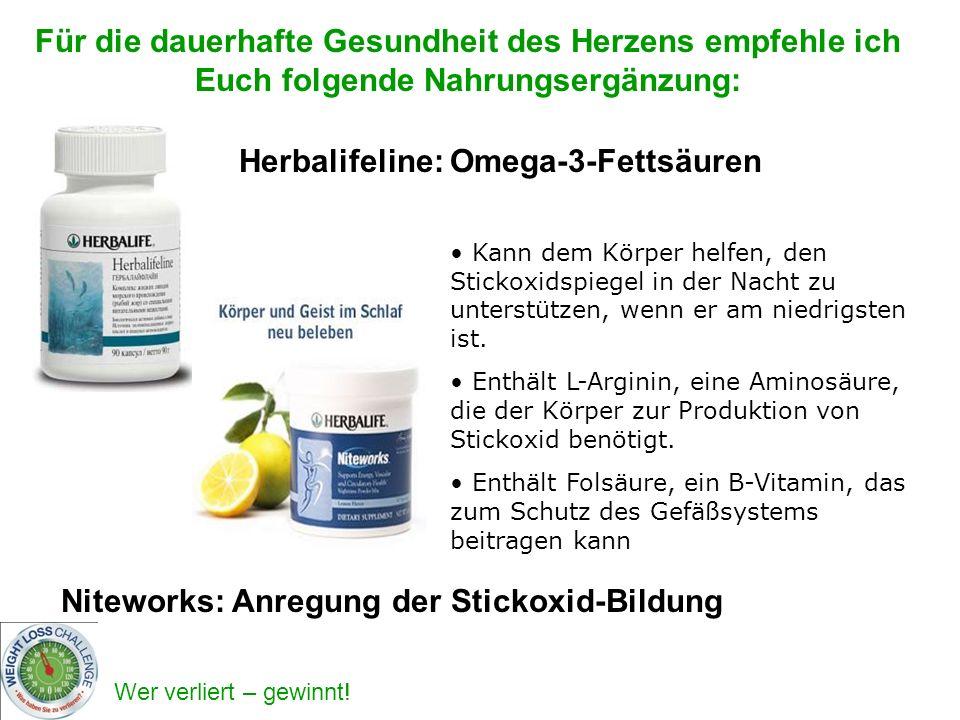 Herbalifeline: Omega-3-Fettsäuren