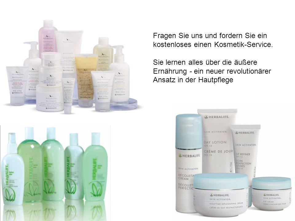 Fragen Sie uns und fordern Sie ein kostenloses einen Kosmetik-Service.