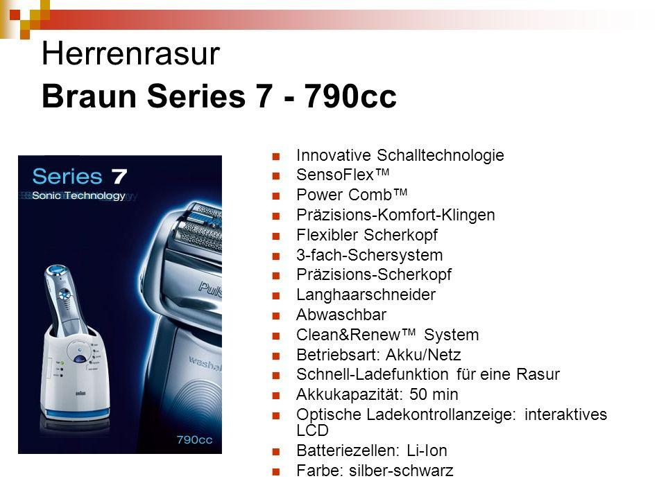 Herrenrasur Braun Series 7 - 790cc