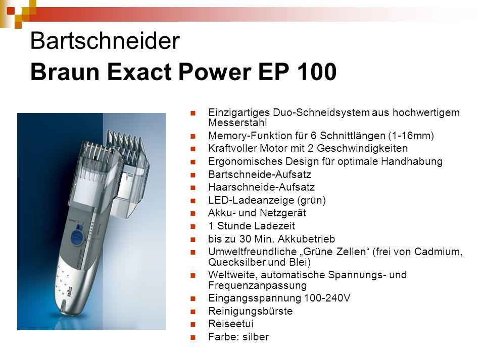 Bartschneider Braun Exact Power EP 100