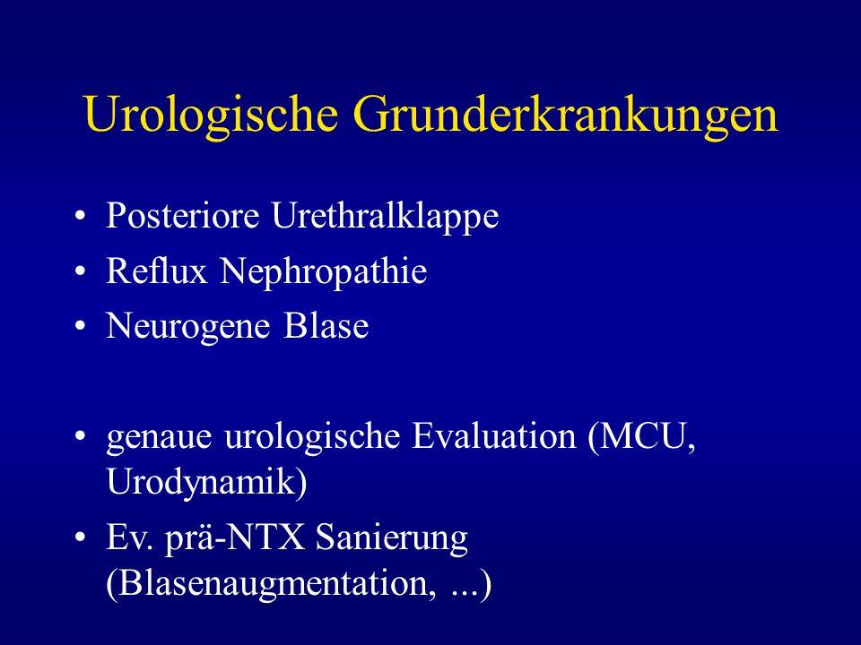 Urologische Grunderkrankungen