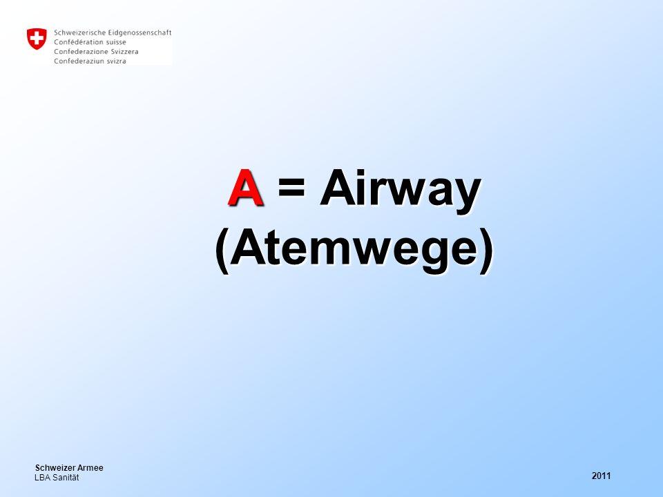 A = Airway (Atemwege) 2011