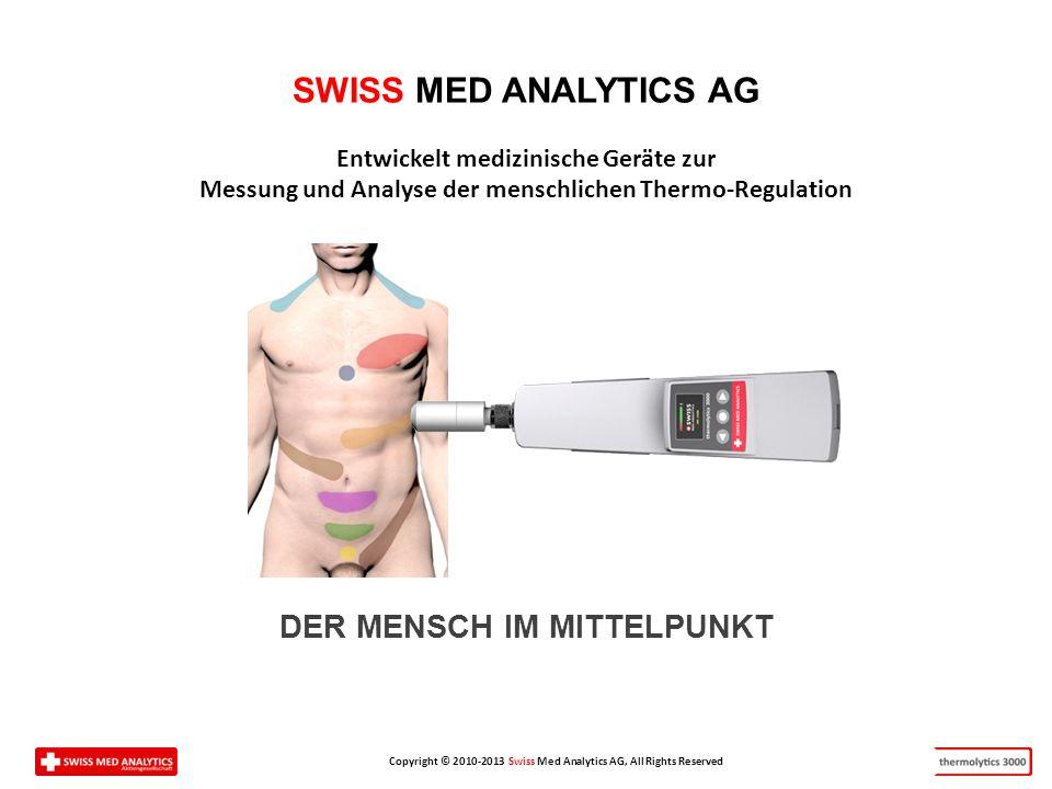 SWISS MED ANALYTICS AG DER MENSCH IM MITTELPUNKT