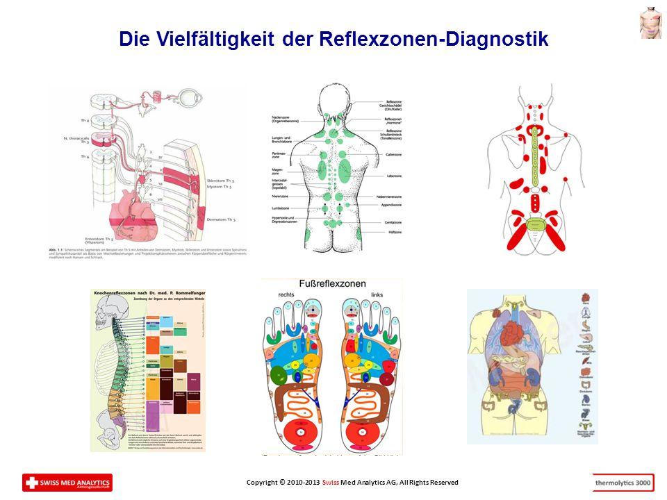 Die Vielfältigkeit der Reflexzonen-Diagnostik