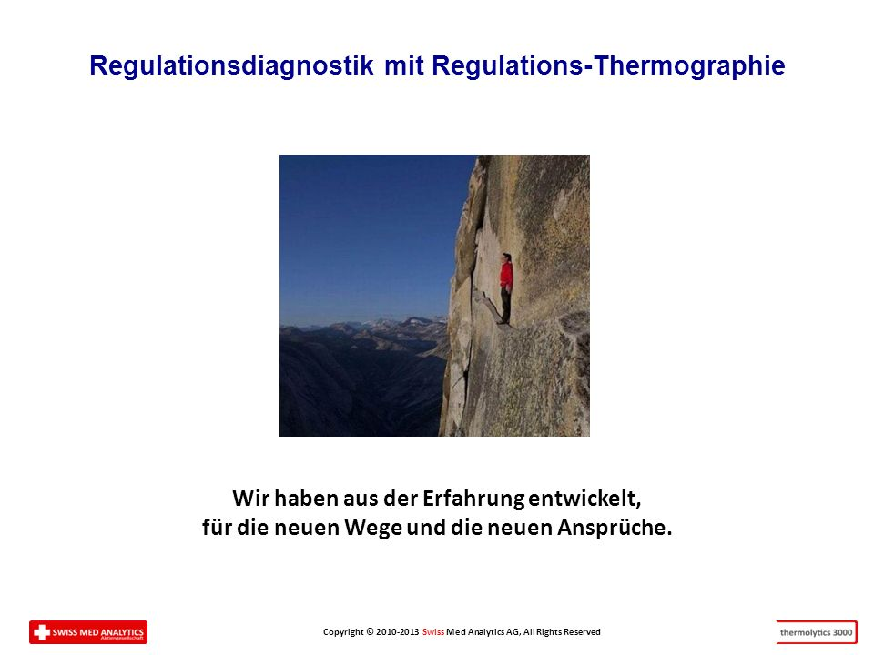 Regulationsdiagnostik mit Regulations-Thermographie