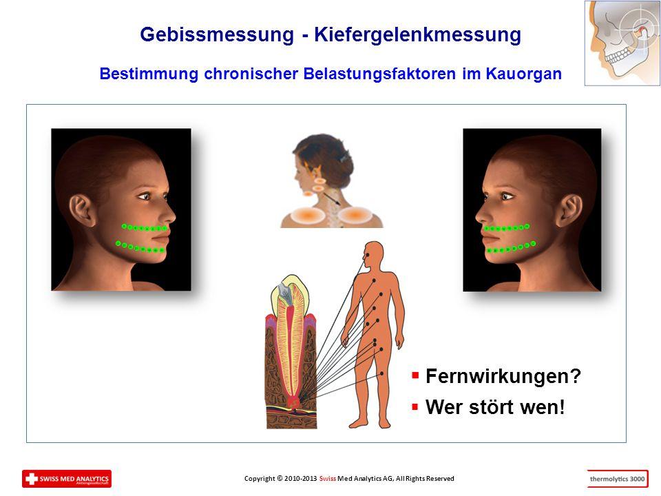 Fernwirkungen Gebissmessung - Kiefergelenkmessung Wer stört wen!
