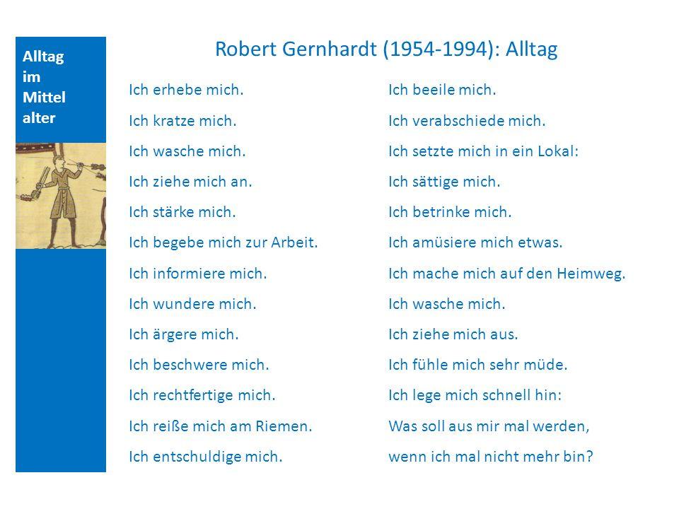 Robert Gernhardt (1954-1994): Alltag