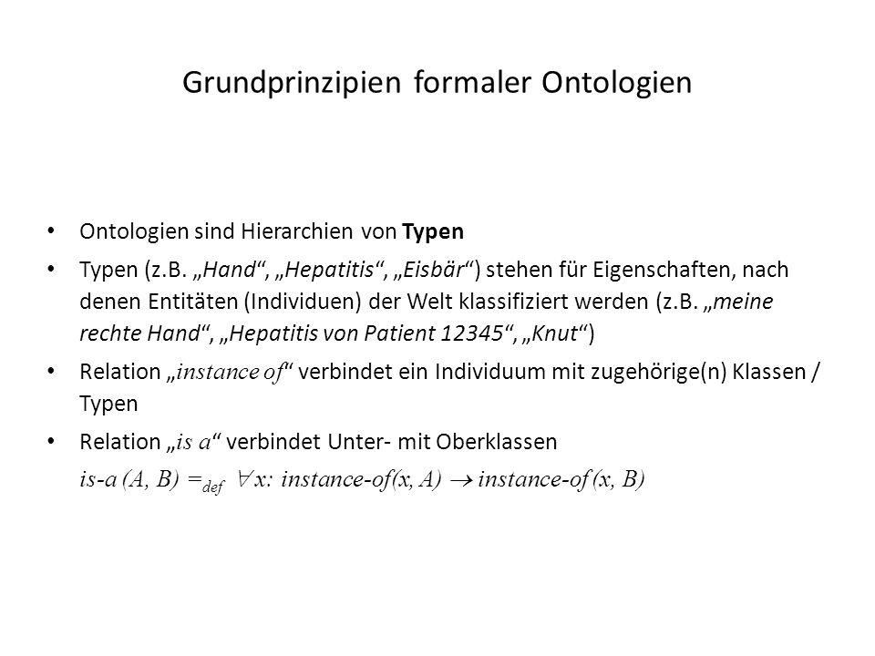 Grundprinzipien formaler Ontologien