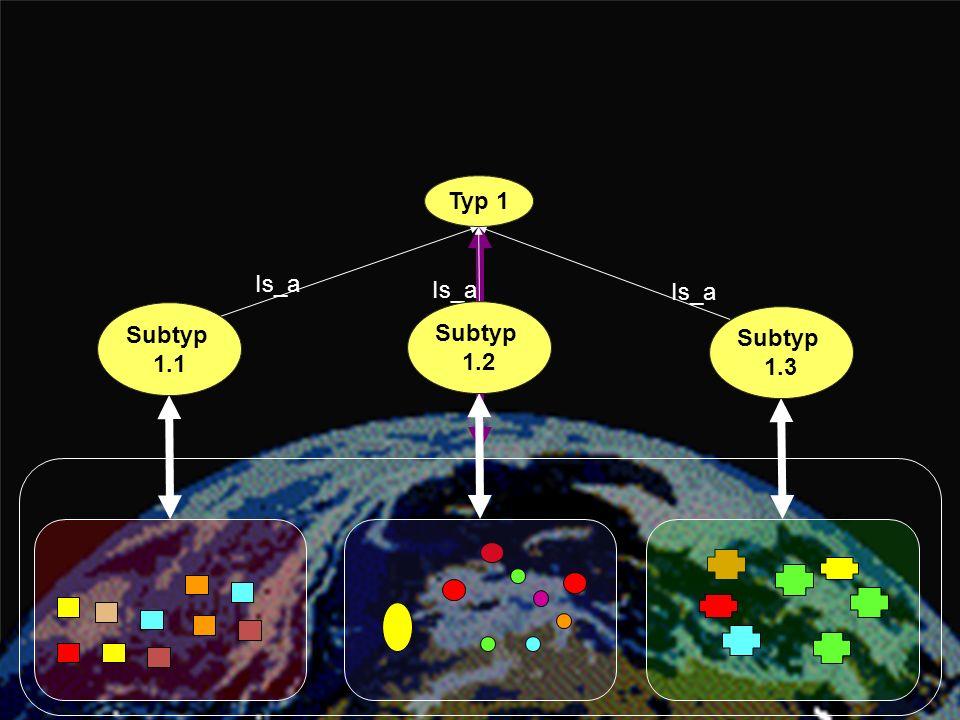 Typ 1 Typ 1 Is_a Is_a Is_a Subtyp 1.1 Subtyp 1.2 Subtyp 1.3