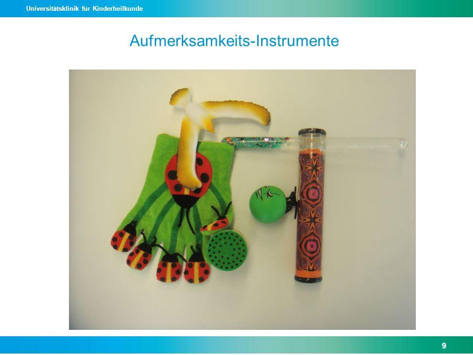 Aufmerksamkeits-Instrumente