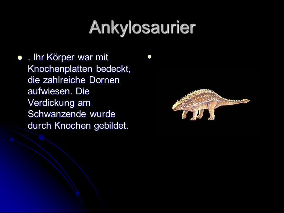Ankylosaurier