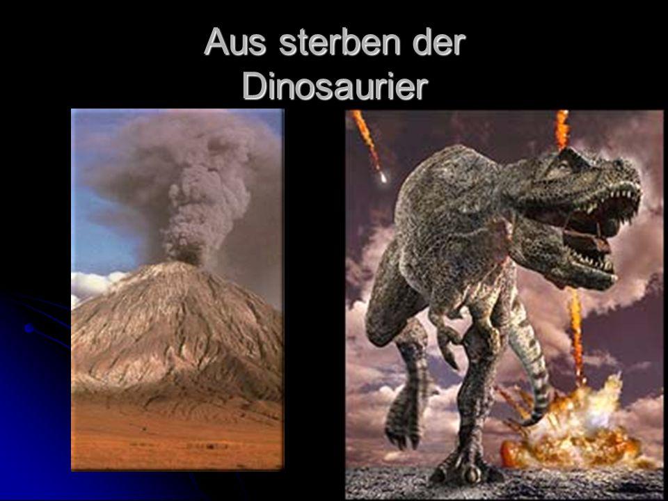 Aus sterben der Dinosaurier