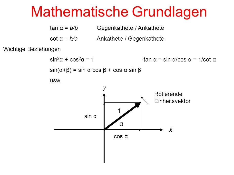 Mathematische Grundlagen