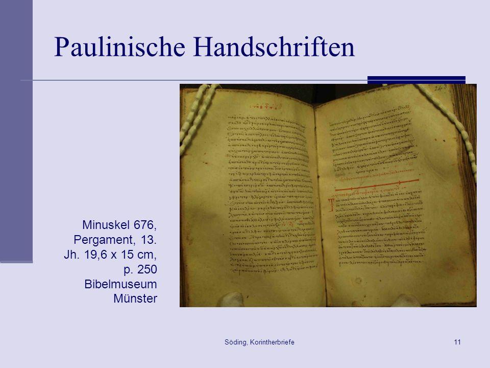 Paulinische Handschriften