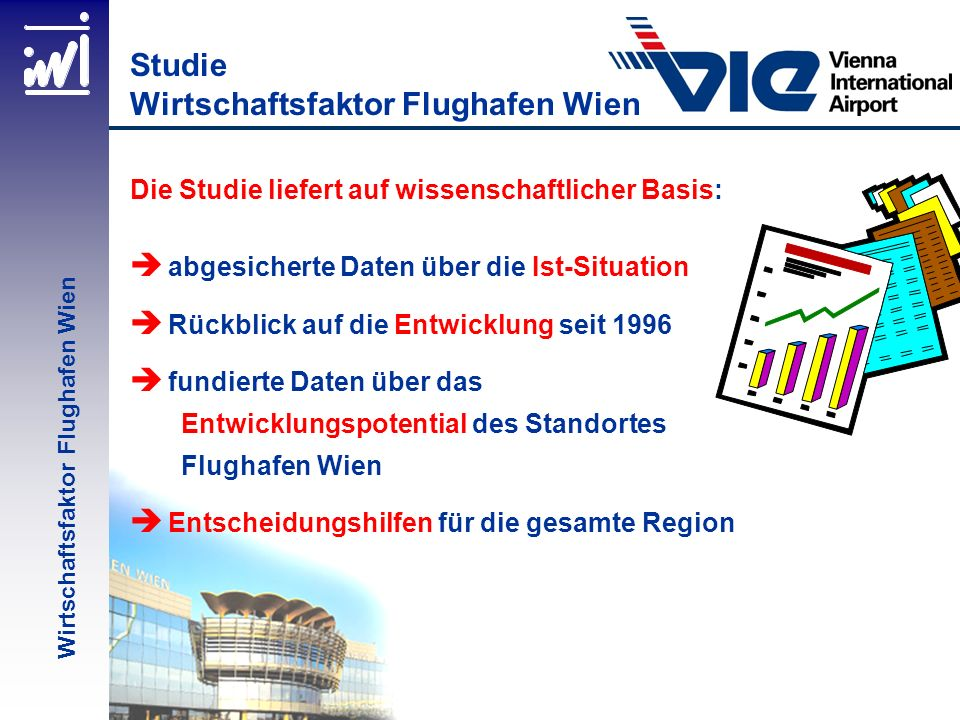 Studie Wirtschaftsfaktor Flughafen Wien