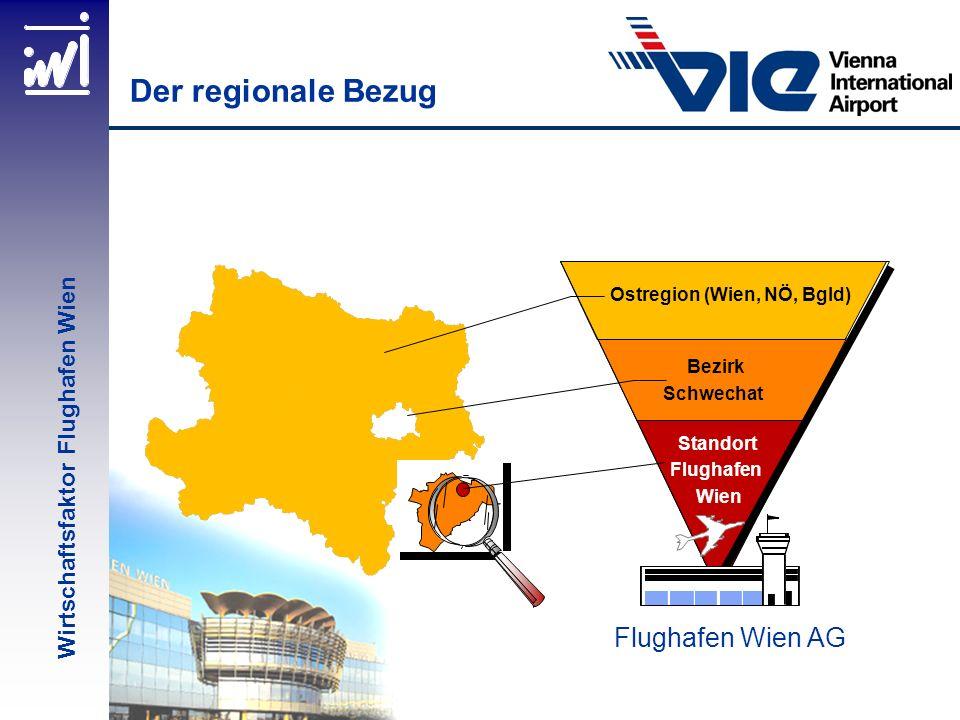 Der regionale Bezug Flughafen Wien AG Wirtschaftsfaktor Flughafen Wien