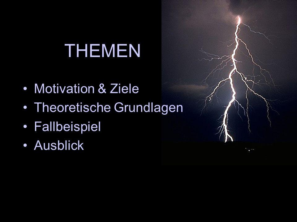 THEMEN Motivation & Ziele Theoretische Grundlagen Fallbeispiel