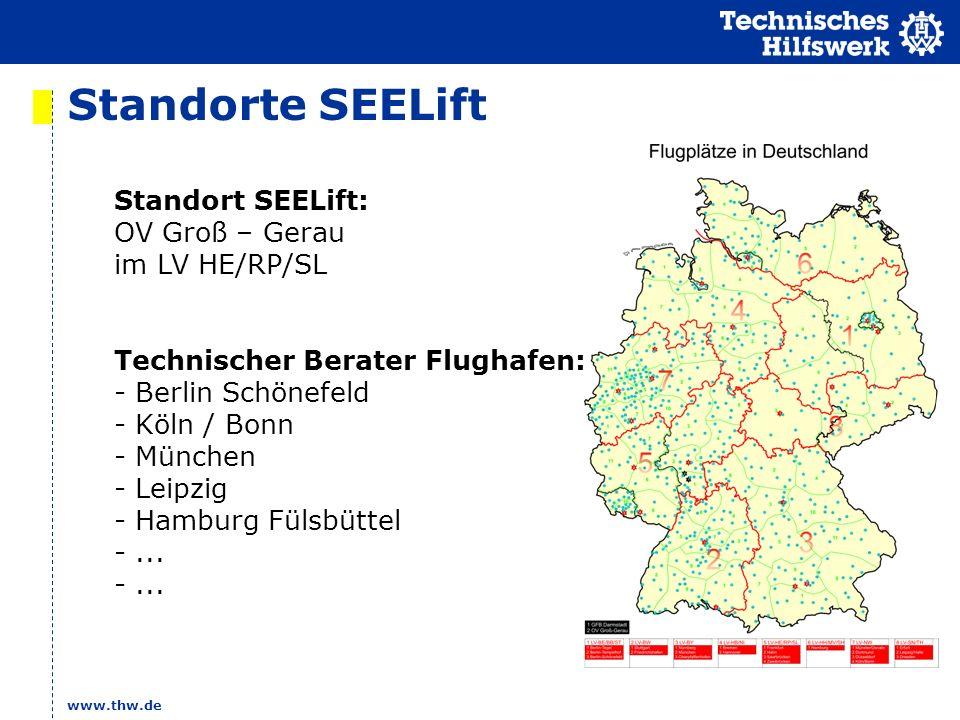 Standorte SEELift Standort SEELift: OV Groß – Gerau im LV HE/RP/SL
