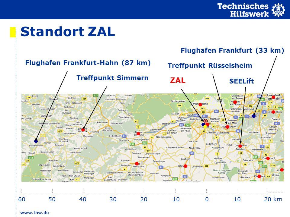 Standort ZAL ZAL Flughafen Frankfurt (33 km)