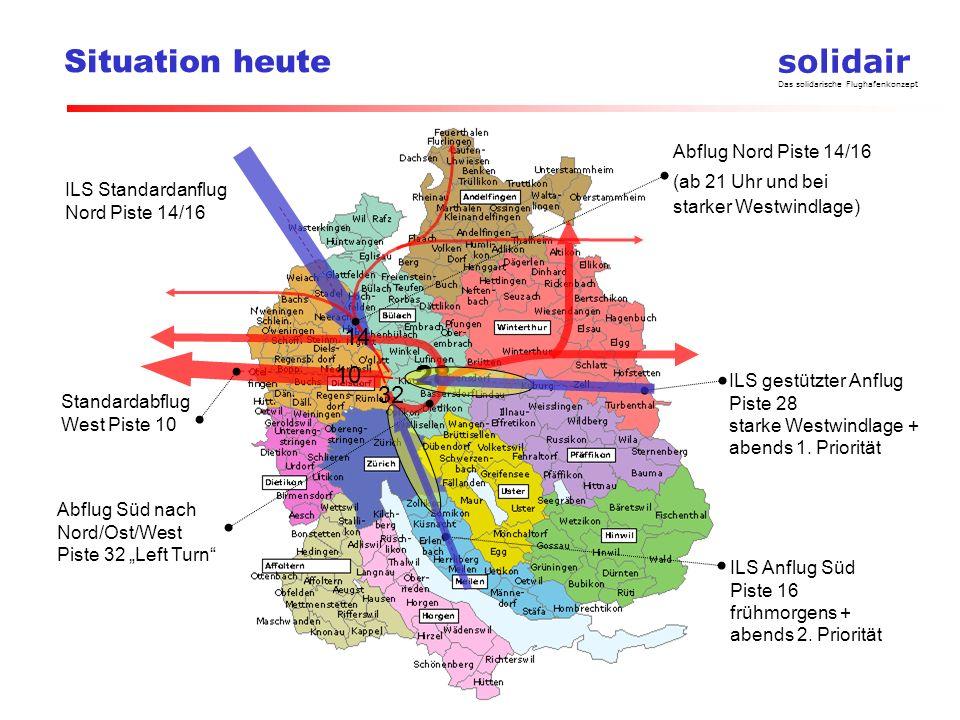 Situation heute 28 14 10 32 Abflug Nord Piste 14/16