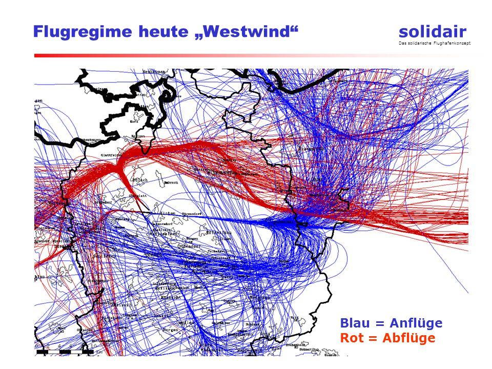 "Flugregime heute ""Westwind"