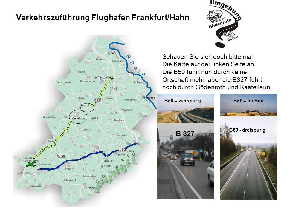 Verkehrszuführung Flughafen Frankfurt/Hahn
