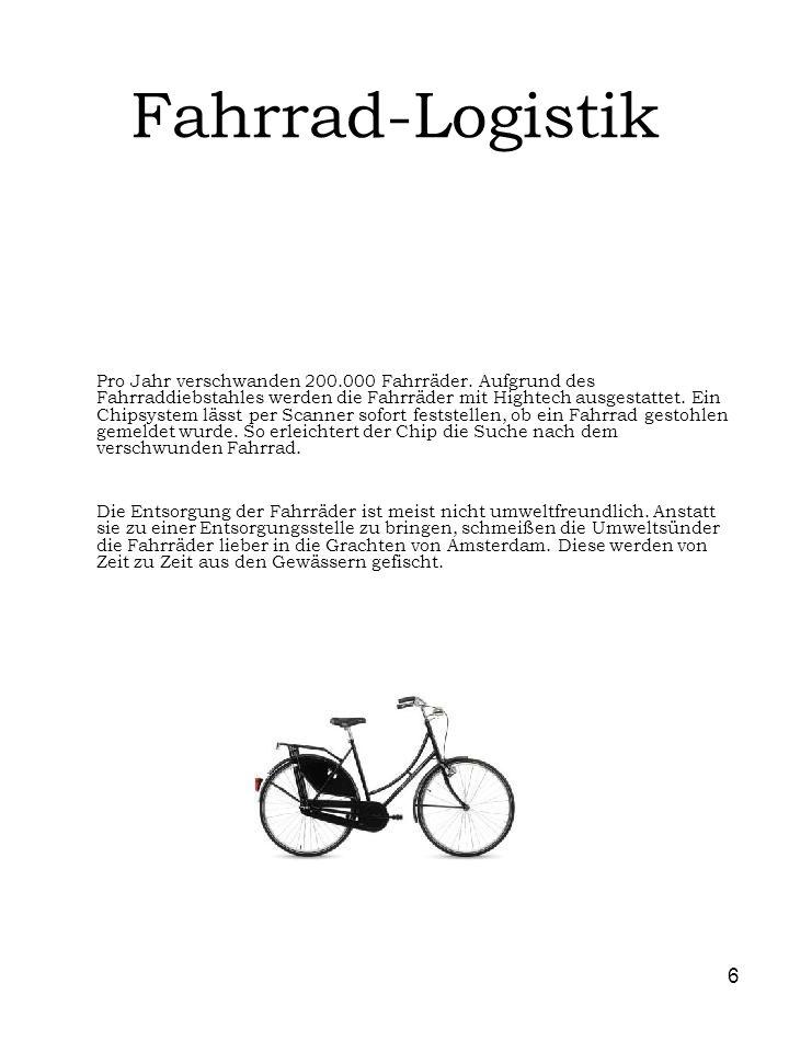 Fahrrad-Logistik